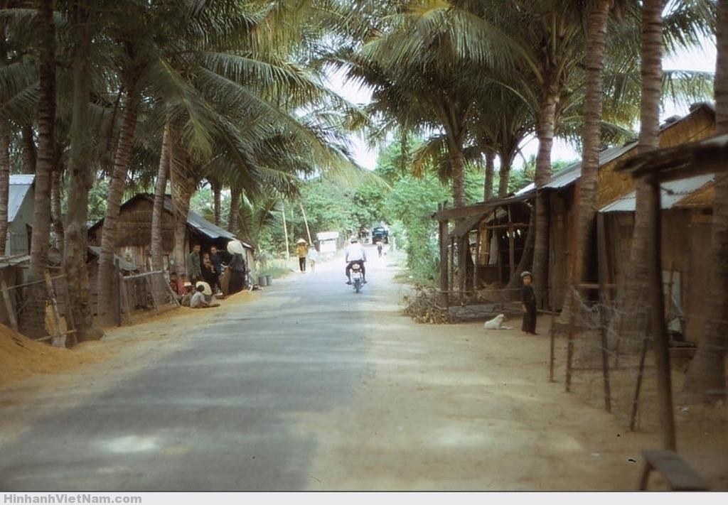 Một khung cảnh bình dị tại làng quê Phú Yên