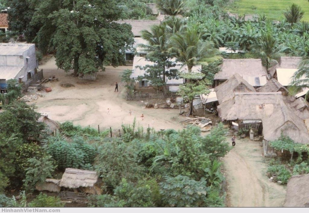 Một khung cảnh làng quê Sơn Hòa