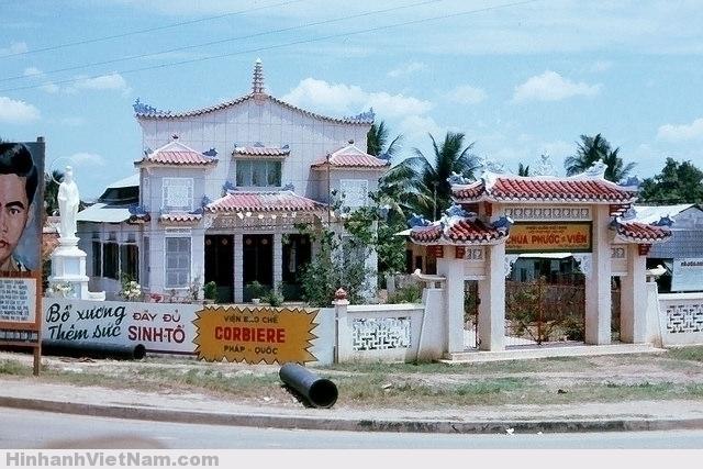 SAIGON 1965 - Chùa Phước Viên, ngã tư Hàng Xanh