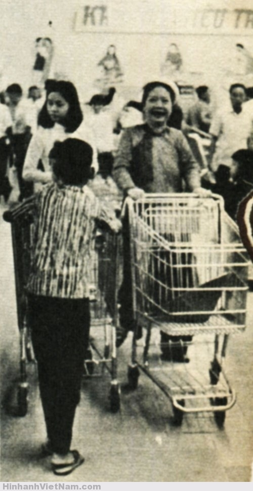 Siêu thị đầu tiên ở Việt Nam - Sài Gòn xưa 1967