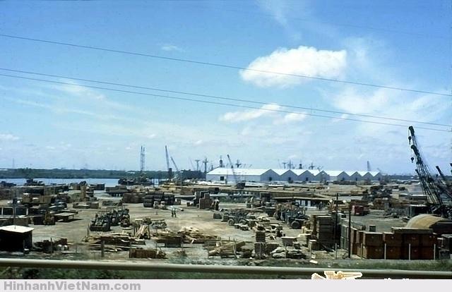 US Military supplies Saigon 1967