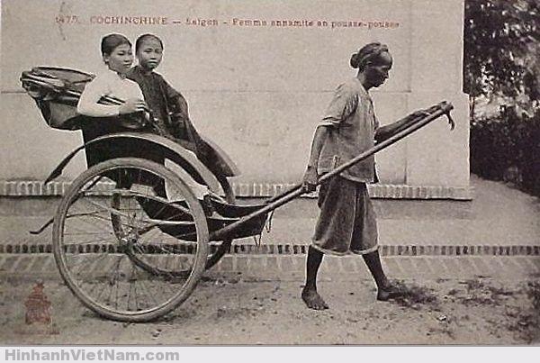 Phu Xe kéo Sài Gòn xưa