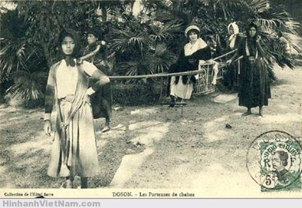 Những người đàn bà làm phu kiệu Đồ Sơn