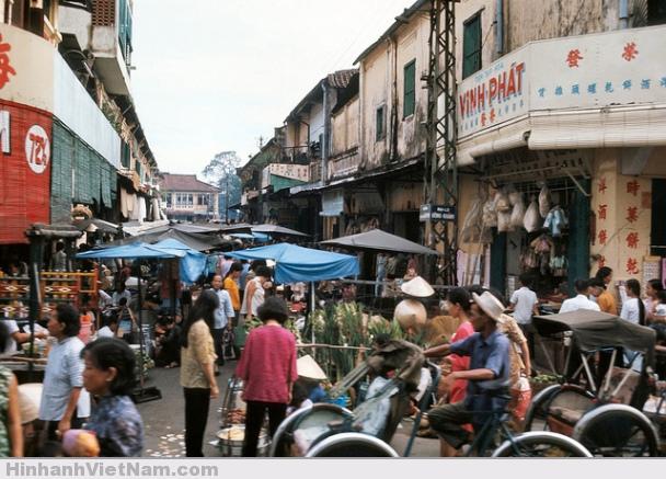 Chợ Lớn 1965 – góc Đồng Khánh – Phù Đổng Thiên Vương