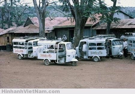 Nhớ xe Lam Sài Gòn xưa