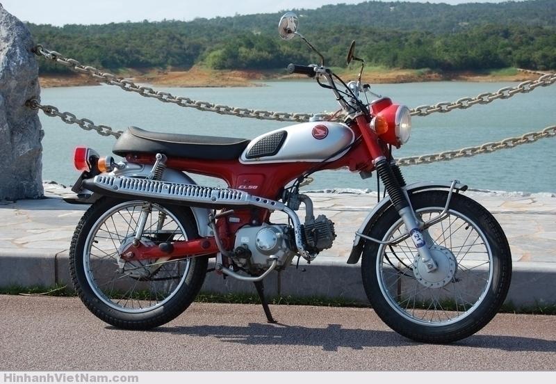 Honda Scrambler CL50 70's