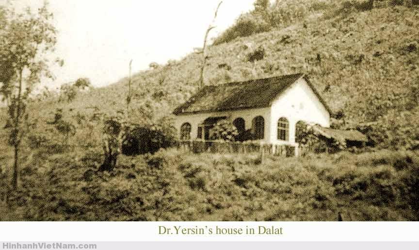 Ảnh chụp ngôi nhà của bác sĩ YERSIN ở Đà Lạt