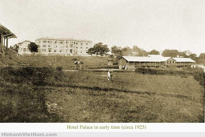 Cảnh vật xung quanh Hotel Palace Đà Lạt năm 1925