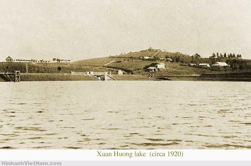 Cận cảnh Hồ Xuân Hương năm 1920