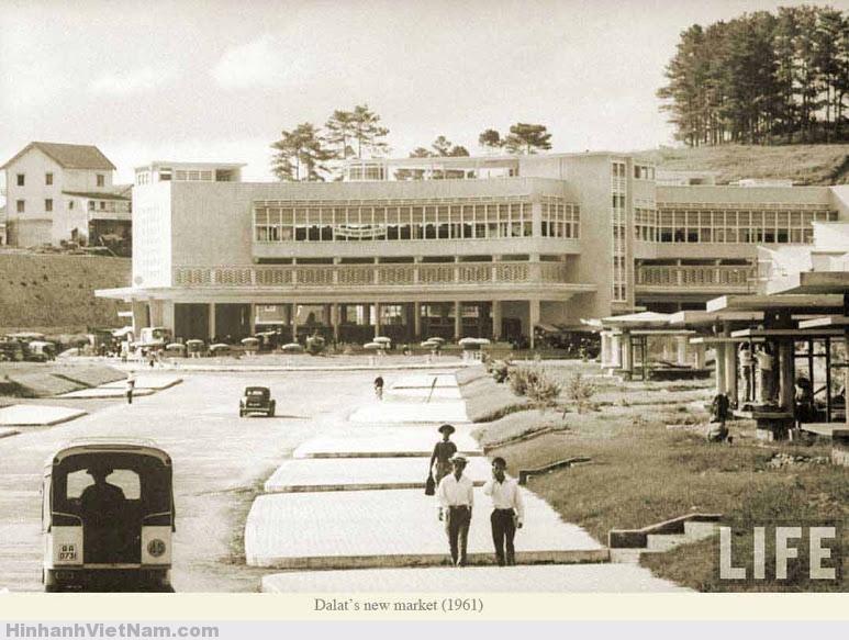 Khu chợ mới xây dựng tại Đà Lạt 1961