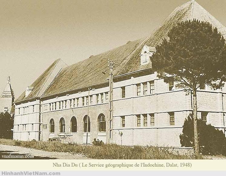 Nhà Địa Dư Đà Lạt 1948