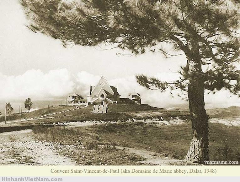 Nhà Thánh Vincent-de-Paul Đà Lạt 1948