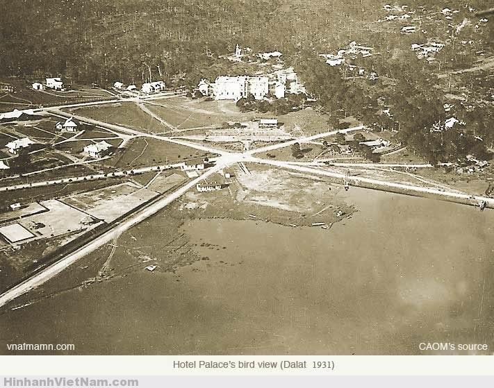 Palace Hotel nhìn từ trên cao 1931