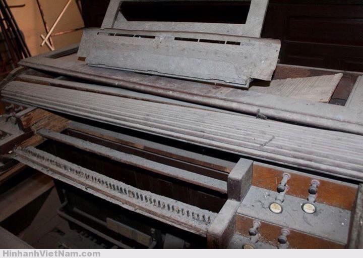 Cây đàn Organ ống cổ xưa nhất tại Nhà Thờ Đức Bà Sài Gòn