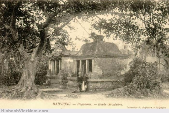 Một ngôi chùa ở Hải Phòng