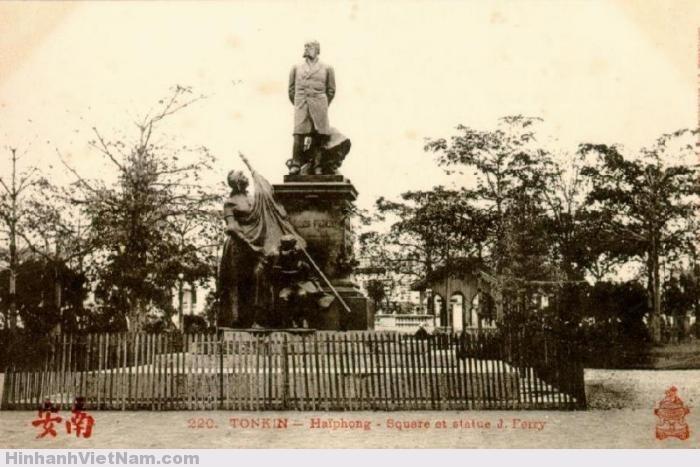 Bức tượng Jules Ferry