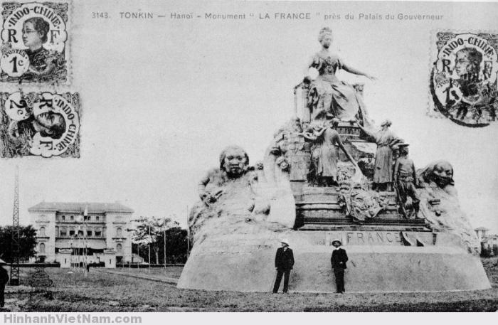 """Tượng """"La France"""" tại Hà Nội"""