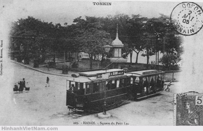 Xe điện tại Việt Nam thời Pháp thuộc 1901