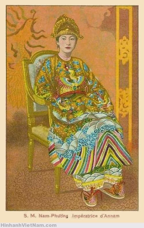 S.M. Nam-Phương Impératrice d'Annam