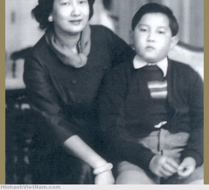 Nam Phương và hoàng tử Bảo Thắng