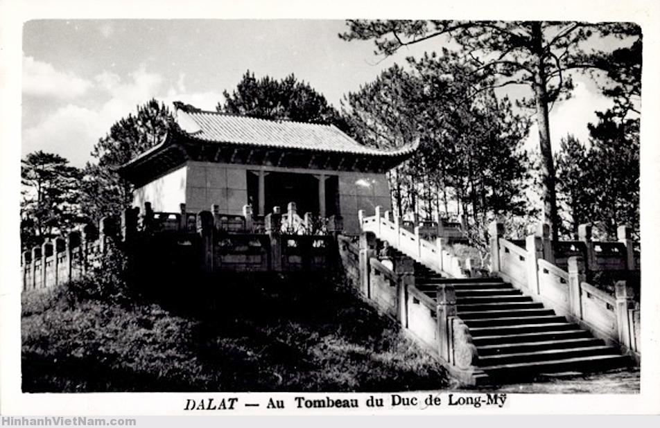 Lăng Long Mỹ Quận công Nguyễn Hữu Hào (cha của Nam Phương hoàng hậu) tại Đà Lạt