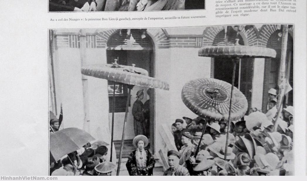 Indochine 1934 – LE MARIAGE DE L'EMPEREUR D'ANNAM