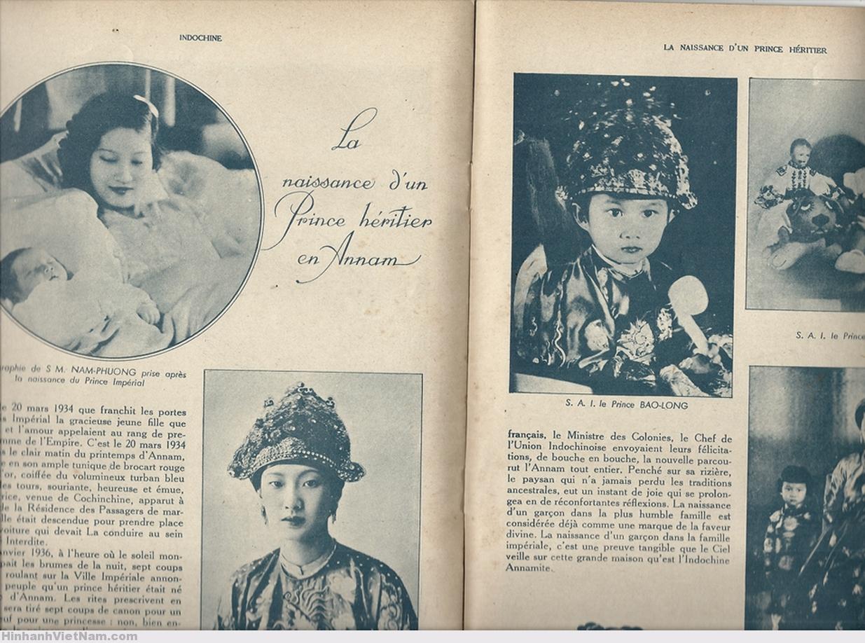 INDOCHINE (2 Jan 1941) – PRINCE ANNAM
