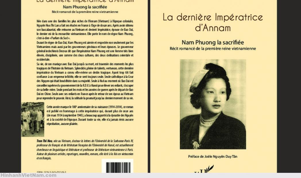 LA DERNIÈRE IMPÉRATRICE D'ANNAM – Nam Phuong la sacrifiée – Récit romancé de la première reine vietnamienne