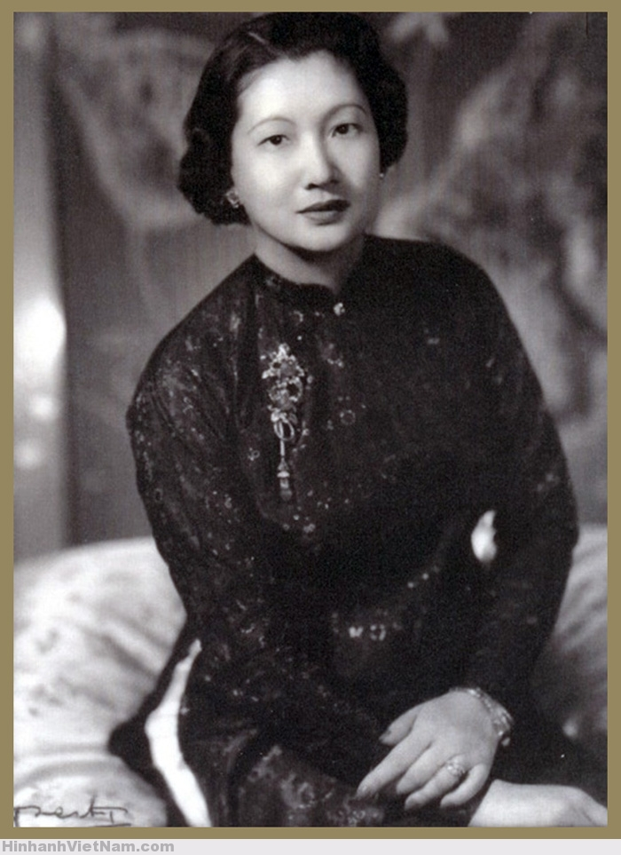 Chân dung Hoàng hậu Nam Phương