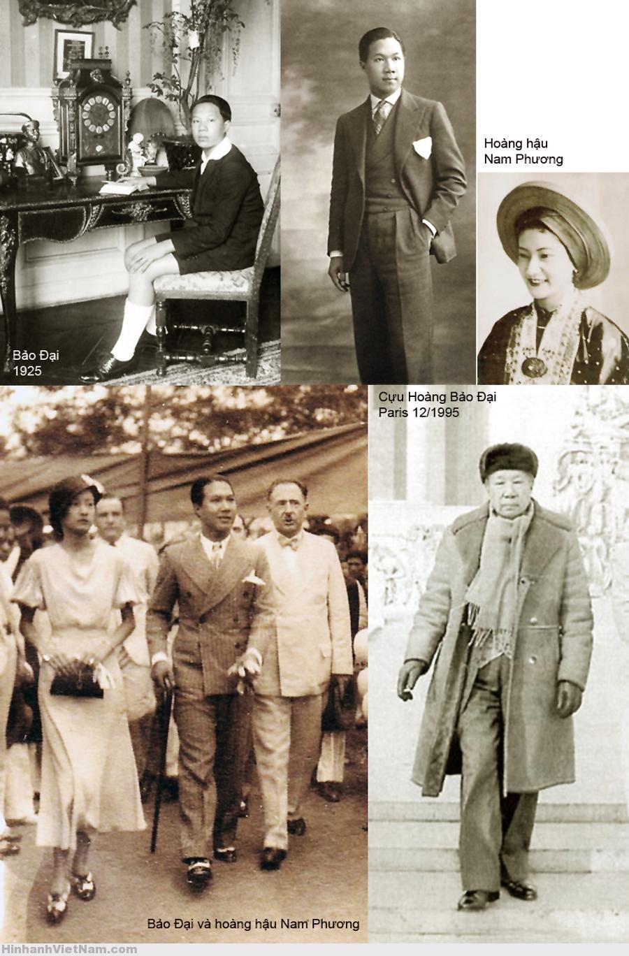 Bảo Đại và Hoàng hậu Nam Phương
