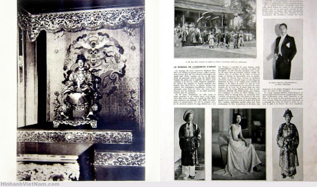 Annam Emperor Bao Dai's Marriage 1934