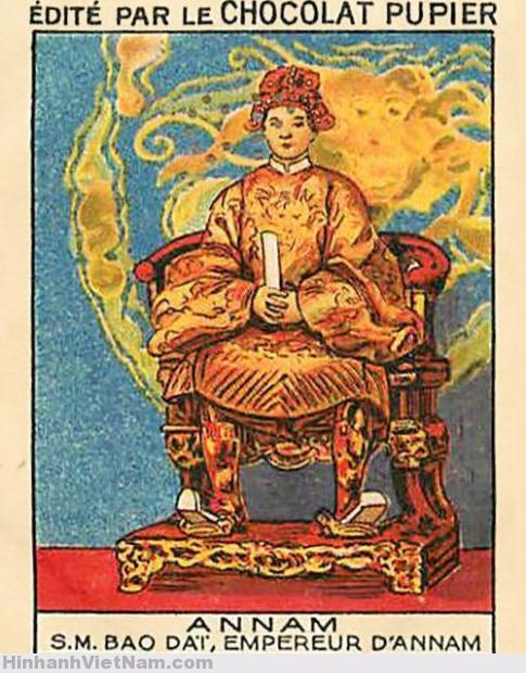 ANNAM – S.M. BAO DAI, EMPEREUR D'ANNAM
