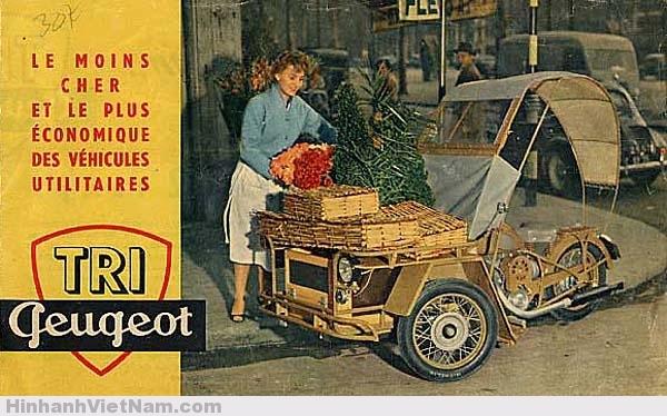 xe mô-tô Peugeot Type 55