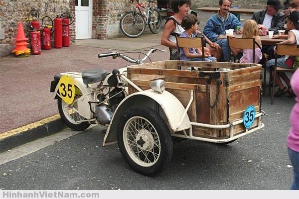 Hình ảnh xe Triporteur Peugeot ngày nay ở Pháp Quốc